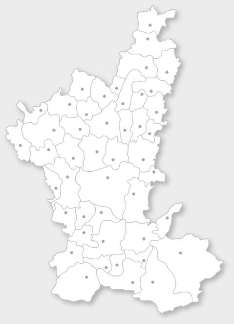 ostallgäu karte Landkreis Ostallgäu: Gemeinden A Z ostallgäu karte